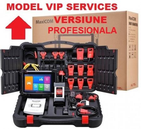 VIP Top Autel Maxicom Mk908p cu J2534 ECU - Tester Auto Profesional Universal Diagnoza, Programare, Codare (Update MS908P)