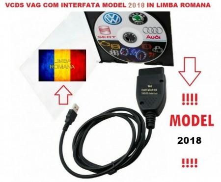 Cablu interfata diagnoza auto gama Vag v18.2.3 Limba Romana Full Chip Data 100% => Promo !
