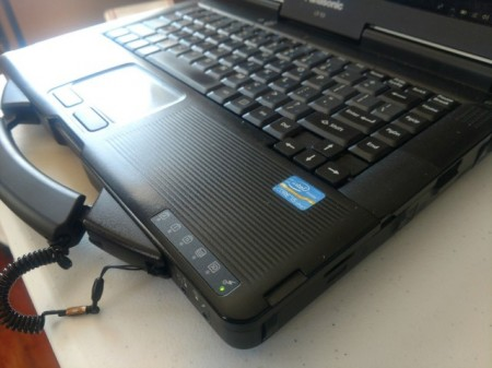 Poze Laptop Militar Toughbook Panasonic I5 Cf-53 Touchscreen Diagnoza Auto Turisme Camioane