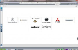 Mercedes Benz MB STAR COMPACT C4 SD Connect Limba Romana + VEDIAMO versiune pro update 2020