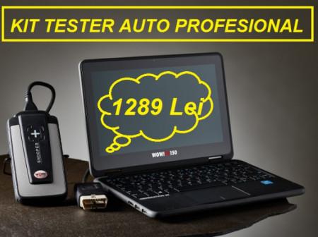 PROMOTIE !!! Tester auto Profesional DELFI 2 WOW V.2018 Bluetooth Romana Multimarca Turisme & Camioane (Laptop Inclus))