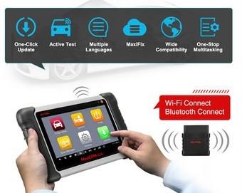 Tester auto Profesional Autel MaxiCOM MK808TS Bluetooth Bluetooth, Tpms Presiune Roti, Aparat original cu Update Online