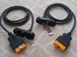 Cablu 16pin OBD2 Autocom modelul vechi cu / fara antena bluetooth, OKI