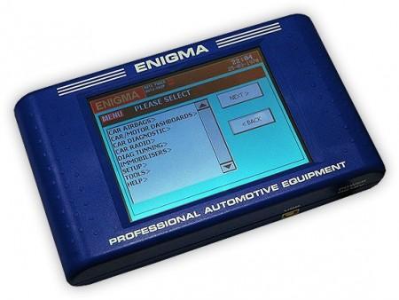 Enigma Tool, cel mai bun tester auto profesional de reprogramare kilometrii