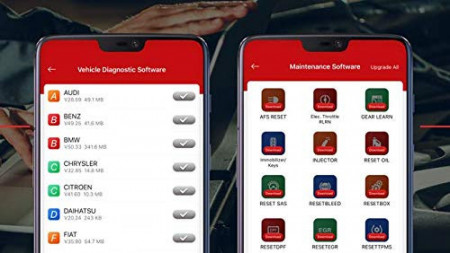 Nou !! LAUNCH Easydiag THINKDIAG 4.0 Interfata diagnoza Auto model PROFESIONAL 2020 Tester Auto Diagnoza pentru Telefoane/Tablete Android