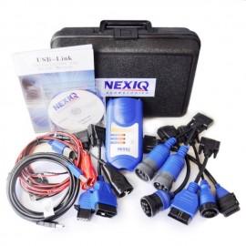 Promo !! NEXIQ 2 125032 USB PRO VERSION Link cu toti adaptorii pentru gama Diesel A++ Quality
