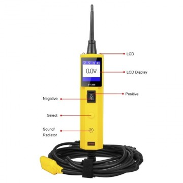 Tester circuit electric auto AUTOOL BT260 6-30V