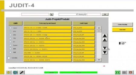 Tester diagnoza motostivuitor auto JUDIT 4 Jungheinrich Incado v.2019