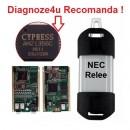 Diagnoza Renault/Dacia CAN Clip2 -V.19X Original Full Chip AN2135SC limba ROMANA !