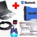 NOU !!! TCS KTS VD600 3IN1 + LAPTOP + WorkshopData  => Bluetooth Blue Version LIMBA ROMANA (Masini si Camioane) = Tester Profesional Auto Universal (WOW 5.00.8)