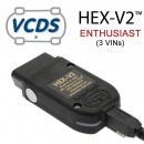 Interfata de diagnoza Vag Com Originala Ross-Tech Hex Can V2: VW-AUDI-SKODA-SEAT