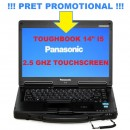 Laptop Militar Toughbook Panasonic I5 Cf-53 Touchscreen Diagnoza Auto Turisme Camioane