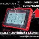 Launch X431 Eurotab II - Tester Original Launch, Versiunea Europa