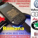VCDS/VAGCOM HEX V2 Interfata diagnoza Update versiune 21.9. Atmega Limba Engleza/Romana