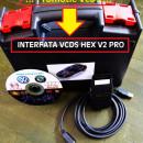 Interfata VCDS/VAGCOM HEX V2 PRO Update 20.4 Engleza, 19.6.X Romana + Engleza