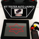 Kit Tester Auto Launch Original Dbscar5 + Tableta Launch originala V 10.1' ultima versiune update la zi