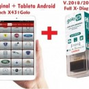 Launch GOLO4 X-Diag PRO Android Bluetooth OBDII +Tableta Android 2021: Tester Auto Profesional Turisme