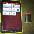 Noua Interfata auto Launch X431 EasyDiag T4.0S Android Bluetooth Launch x431 PRO4s 2020 tableta 10.1 Inch, Husa Thoughbook