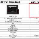 Noul Launch X431 V+ PRO4 PLUS V.2020 Wifi/Bluetooth Tableta Toughbook 10.1'' Tester Auto Profesional Service