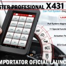 PROMOTIE !!! Launch X431 V 8 inch V4.0 KIT Diagnoza Profesional, Tester Auto Multimarca Profesional- 100% Original Launch