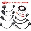 Set 8 cabluri adaptoare OBD2 Delphi Cdp+ pentru turisme