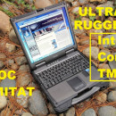 Laptop Militar GETAC B300 I7 4/250 GB Antisoc, Antipraf, Ultra Rugged , Touchscreen Activ, Wifi+BT, HDMI, PCMCIA, Express Card 54