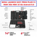 Noul Launch X431 V+ PRO4 PLUS V.2021 Wifi/Bluetooth Tableta Toughbook 10.1'' Tester Auto Profesional Service