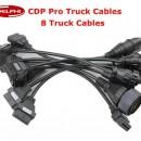 Set 8 cabluri adaptoare OBD2 Delphi pentru camioane
