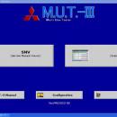 Tester auto profesional Mitsubishi MUT3 autoturisme si camioane
