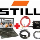 Tester original STILL Forklift Canbox-USB 2 model profesional, laptop inclus