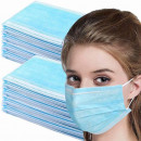 Masca faciala protectie gura/nas 3 straturi (Model Original cu Atestat UE/SUA)