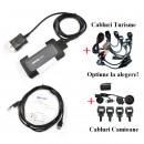 Pret INEGALABIL: Auto~Com NEW Cdp+ 2014.02 Pro Cars/Trucks/Generic Tester multimarca, Set Cabluri Turisme sau Camioane