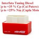 2015 Interfata Chip Tuning Plug And Play NitroOBD2: creste puterea la masini Diesel