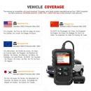 Tester Diagnoza cu Interfata Auto, Profesional, Launch Creader, Multimarca OBD2 EOBD Scanner Coduri Auto CR3001