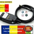 Cablu interfata diagnoza auto gama Vag 17.8 Limba Romana, Maghiara, Engleza, Germana Full Chip Data 100%