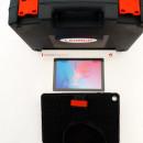 Interfata auto Launch X431 EasyDiag Dbscar Original cu tableta Huawei 10 Inch, Husa Thoughbook