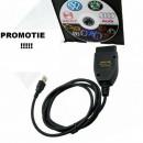 Pret Redus ! Cablu Interfata, Diagnoza Tester VAG COM Vw Audi Skoda Seat - Stoc Limitat !!