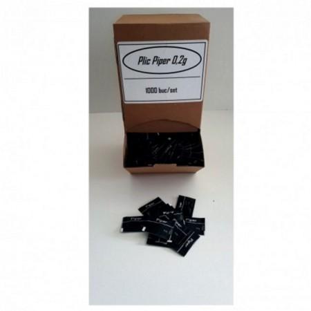 Plic Piper negru macinat 0,2g la cutie / 1000 buc