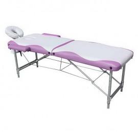 Pat masaj , masa masaj Elora Plus - PORTOCALIU cu NEGRU