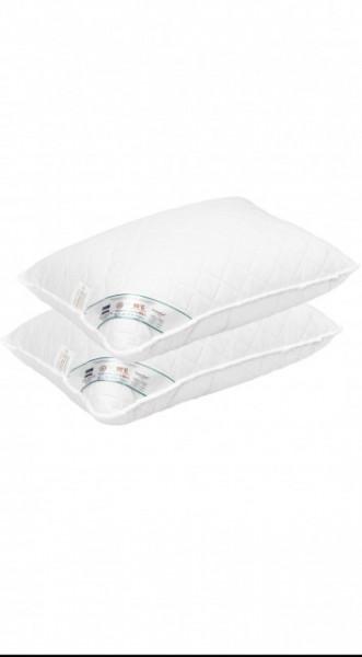 Set 2 perne matlasate microfibra HypoallergenicMed Somnart, 50x70 cm, lavabile la 95°C