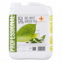 Gel mixt 5L - Green Tea + Vit E