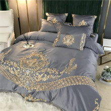 Lenjerie Luxury Exquisite Gold Royal Brodata
