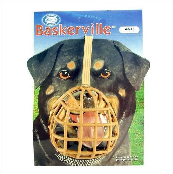 Botnita plastic pentru caini, Baskerville, NR.13