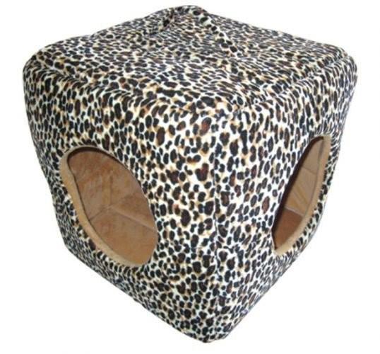 Casuta pentru pisici, Pet Expert, Cubic OPT52368