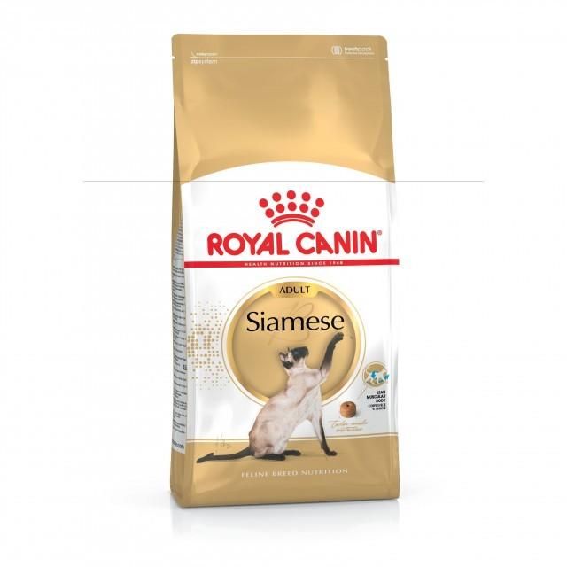 Hrana uscata pentru pisici, Royal Canin, Siamese, 10 Kg