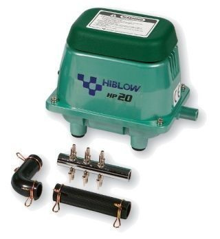 Pompa aer pentru acvariu, Hagen, Model 20