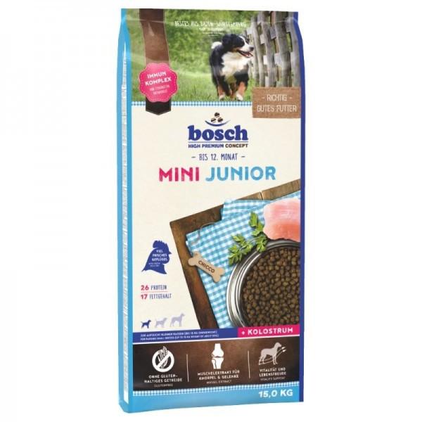 Hrana uscata pentru caini, Bosch Mini Junior, 15 Kg