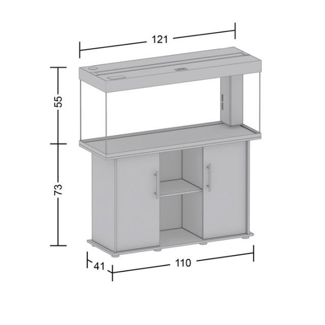 acvariu juwel rio 240 negru. Black Bedroom Furniture Sets. Home Design Ideas