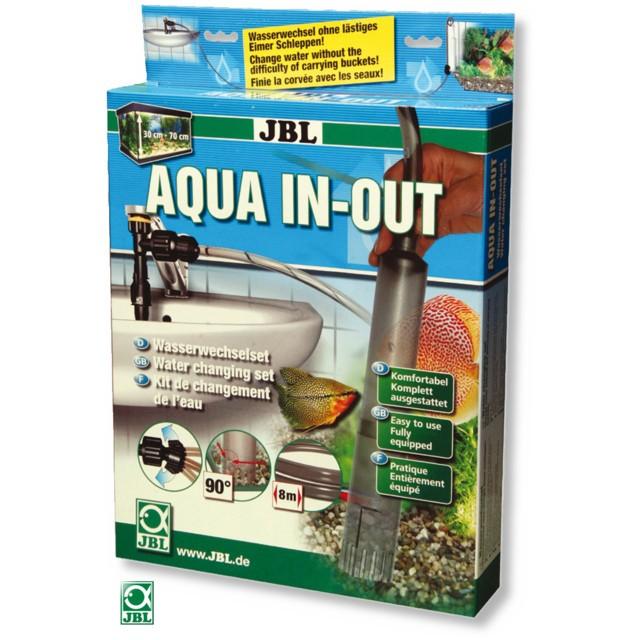 Curatator substrat acvariu, JBL, Aqua In Out Complete Set