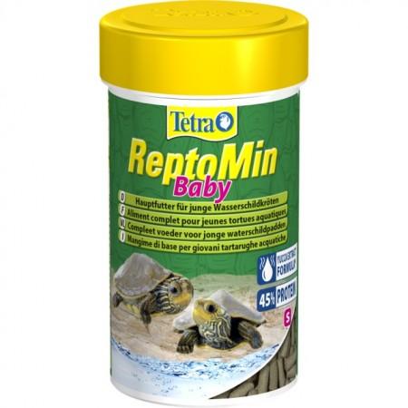 Hrana broaste testoase, Tetra Reptomin Baby 100 ml